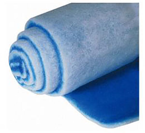 air filter blue white